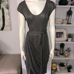 MNG by mango draped dress